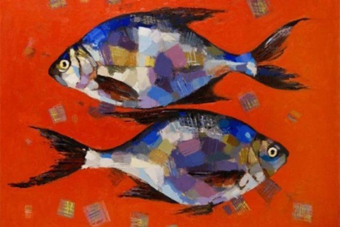 Живопись акриловыми красками в ХУдожественной школе Пальмира Арт