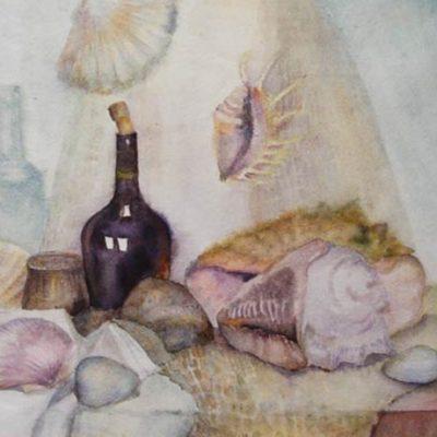 Курс акварельная живопись в Художественной школе Пальмира Арт