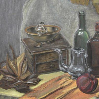 Курс пастели в Художественной школе Пальмира Арт
