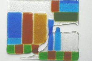 Витраж. Работа со стеклом. Фьюзинг стекла.