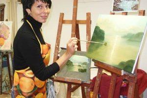 Масляная живопись. Основы масляной живописи, курсы по масляной живописи, основы композиции