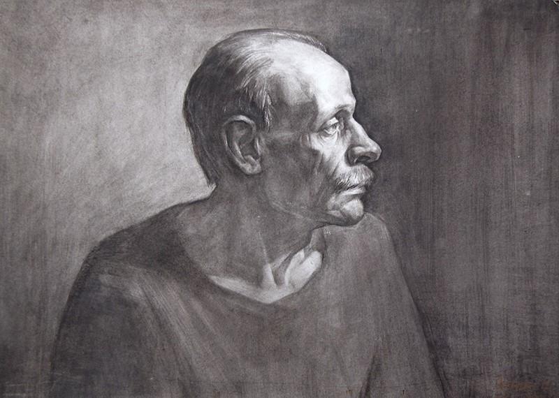 Рисунок в цветном карандаше фото