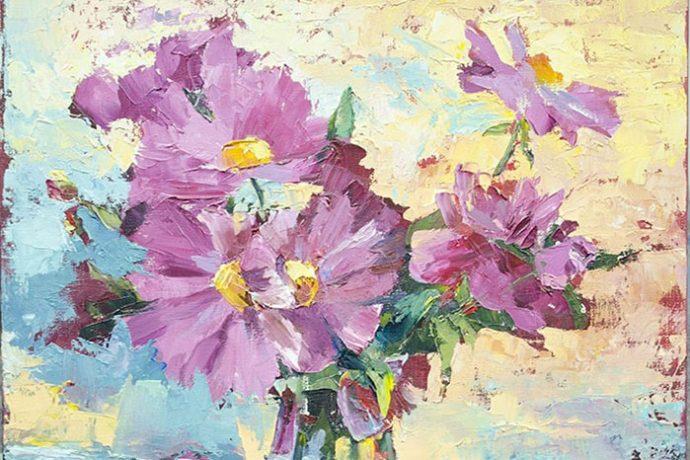 Интерьерная живопись в ХУдожественной школе Пальмира Арт