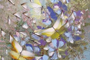 Мастер-класс по масляной живописи «Цветочные поля с бабочками мастихином»