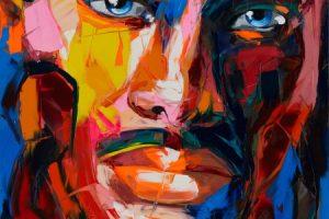 Курс Современный портрет мастихином
