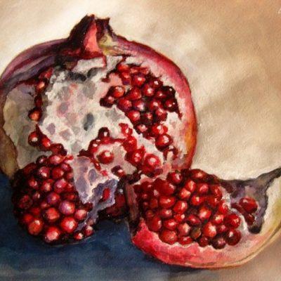 Мастер-класс по масляной живописи «Гранат» состоится 24.04.2020