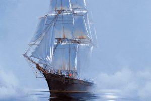 Мастер-класс по масляной живописи «Корабли»