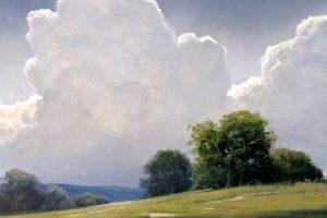 Мастер-класс  по масляной живописи «Необыкновенные облака Renato Muccillo»