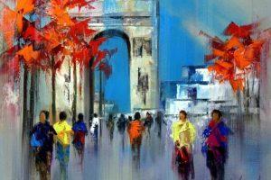 Мастер-класс по масляной живописи «Современные пейзажи по мотивам работ Josep Teixido»
