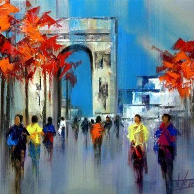 Мастер-класс по масляной живописи «Современные пейзажи по мотивам работ Josep Teixido» состоится 28.04.2020