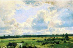 Мастер-класс по масляной живописи «Облака»