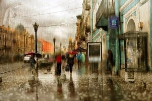 Мастер-класс по масляной живописи «Дождливый Петербург»