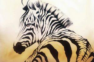 Мастер-класс по масляной живописи «Зебры»