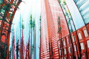 Мастер-класс по масляной живописи «Индустриальный пейзаж»