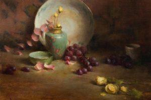 Мастер-класс по масляной живописи «Натюрморты от David Riedel»