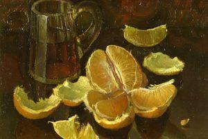 Мастер-класс по масляной живописи «Апельсины и мандарины»