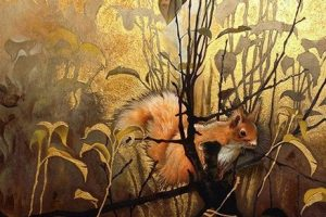 Мастер-класс по масляной живописи «Белки»