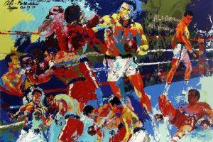 Мастер-класс по масляной живописи «Бокс. Мужской характер»
