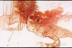 Мастер-класс по масляной живописи «Дикие кошки»