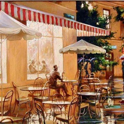 Мастер-класс по масляной живописи «Французское кафе» состоится 06.11.2020