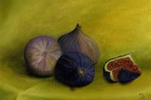 Мастер-класс по масляной живописи «Инжир»