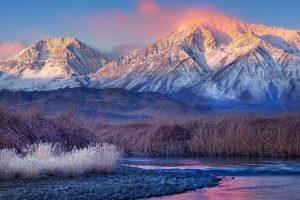 Мастер-класс по масляной живописи «Снежные горы»