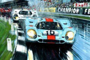 Мастер-класс по масляной живописи «Техно-арт. Автомобили»
