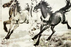 Мастер-класс по масляной живописи «Изображение животных и птиц в восточном стиле»