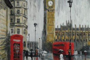 Мастер-класс по масляной живописи «Лондон»