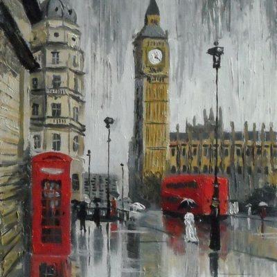 Мастер-класс по масляной живописи «Лондон» состоится 23.04.2020