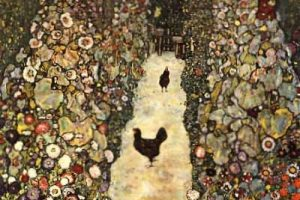 Мастер-класс по масляной живописи «Декоративная картина в стиле модерн или ар-нуво по мотивам работ Густава Климта»