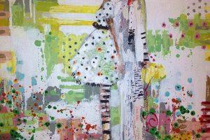 Мастер-класс по масляной живописи «Фактурные девочки по мотивам работ KIM SCHUESSLER»