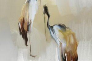 Мастер-класс по масляной живописи «Цапли»