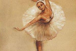 Мастер-класс по масляной живописи «Балерины»