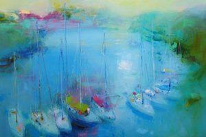 Мастер-класс по масляной живописи «Морской пейзаж. Яхты»