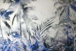 Мастер-класс по масляной живописи «Пальмы»