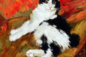Мастер-класс по масляной живописи «Коты по мотивам работ Марии Павловой»