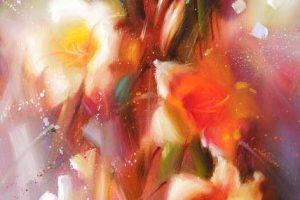 Мастер-класс по масляной живописи «Лилии»