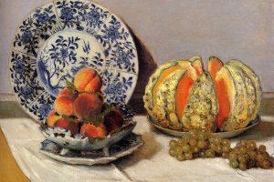 Мастер-класс по масляной живописи «Натюрморты с фруктами Клода Моне»