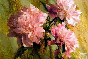 Мастер-класс по масляной живописи «Пионы»
