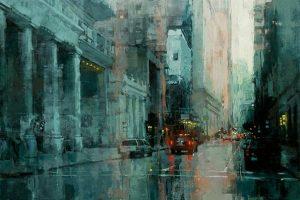 Мастер-класс по масляной живописи «Нью-Йорк по мотивам работ Jeremy Mann»