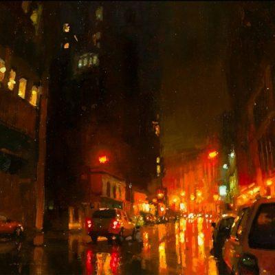 Мастер-класс по масляной живописи «Нью-Йорк по мотивам работ Jeremy Mann» состоится 05.11.2020