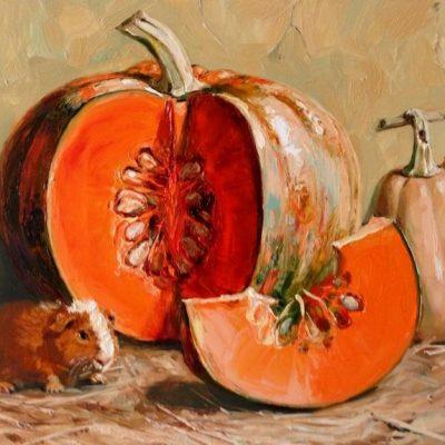 Мастер-класс по масляной живописи «Тыквы мастихином» состоится 31.10.2020