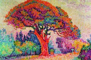 Мастер-класс по масляной живописи «Летний пейзаж, изучаем пуантилизм»