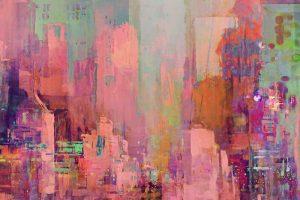Мастер-класс по масляной живописи «Мегаполис, по мотивам работ Joe Ganech»
