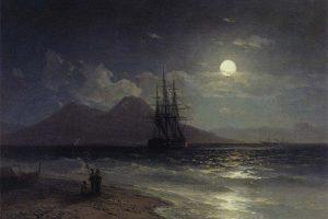 Мастер-класс по масляной живописи «Лунная ночь»