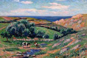 Мастер-класс по масляной живописи «Летний пейзаж по мотива работ Анри Море»