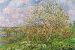 Мастер-класс по масляной живописи «Пейзажи по мотивам работ О.К. Моне»