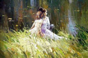 Мастер-класс по масляной живописи «Дыхание лета по мотивам работ Алексея Зайцева»
