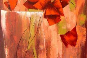Мастер-класс по масляной живописи «Цветы в технике импасто Анастасии Крайневой»